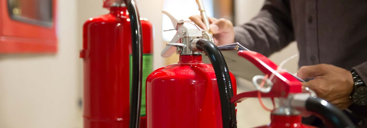 Fire Extinguisher Servicing throughout the United Kingdom.