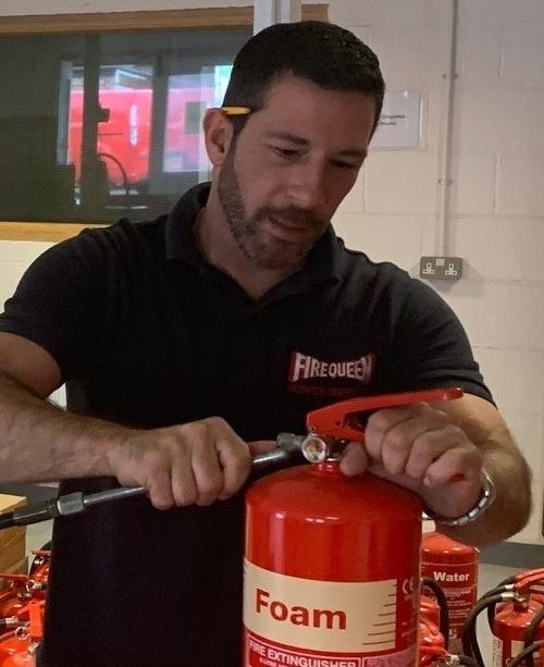 Undertaking Fire Extinguisher Servicing