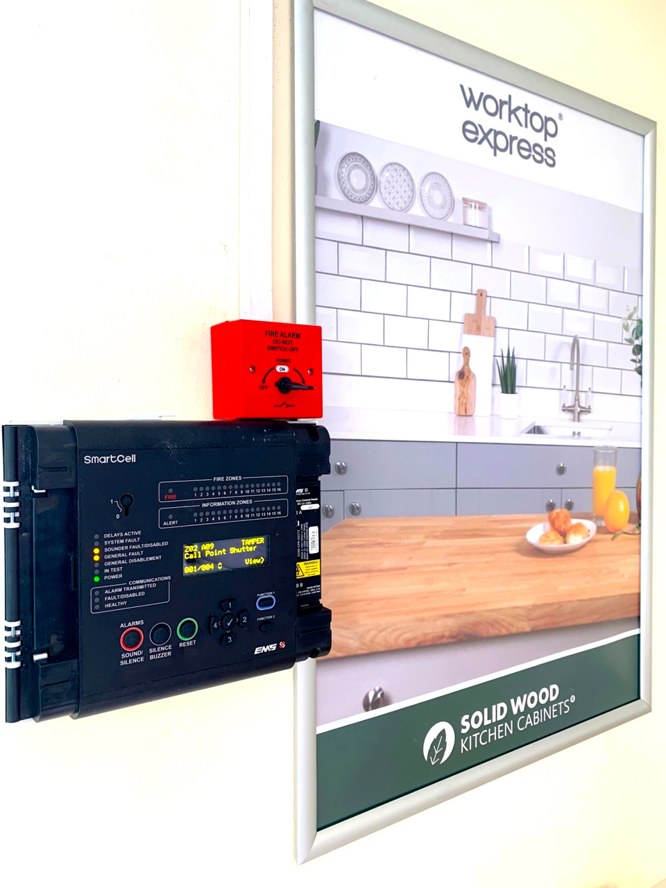 Fire System installing in limited time and on a budget